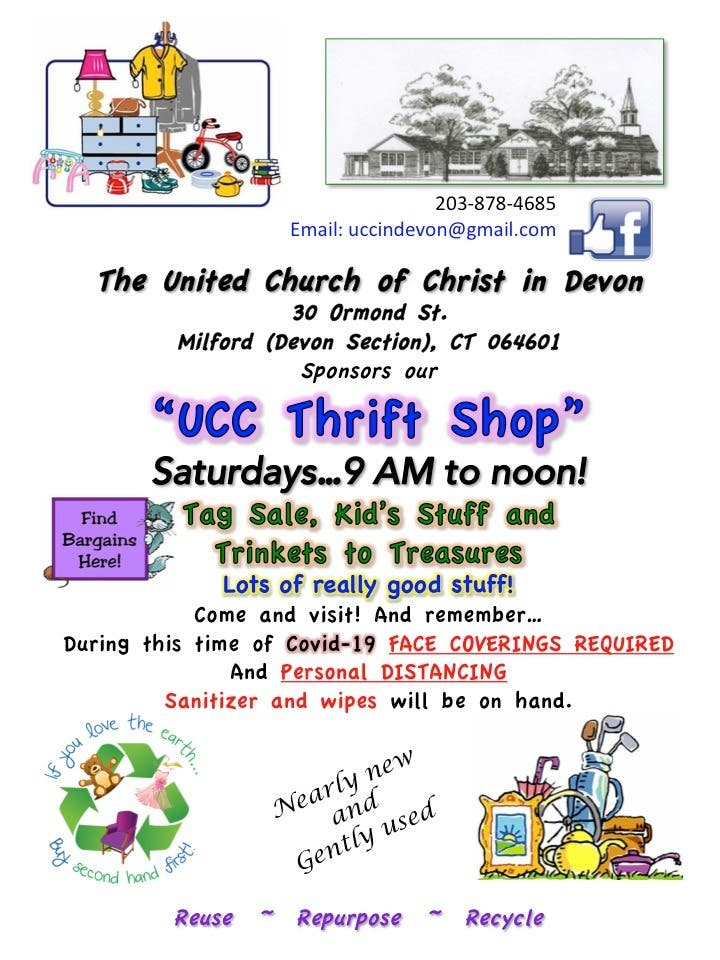 UCC Thrift Shop - les samedis