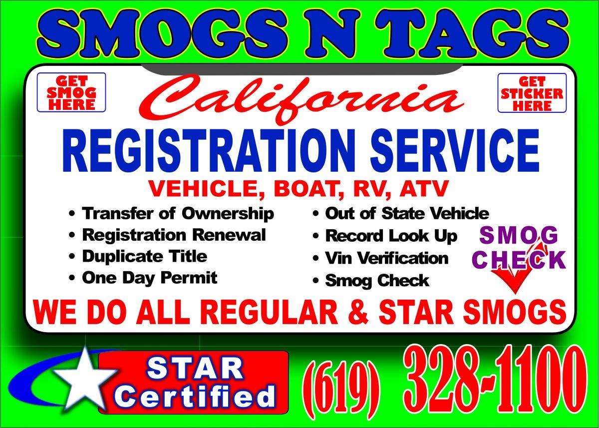 Auto Registration Service Santee | Santee, CA Patch
