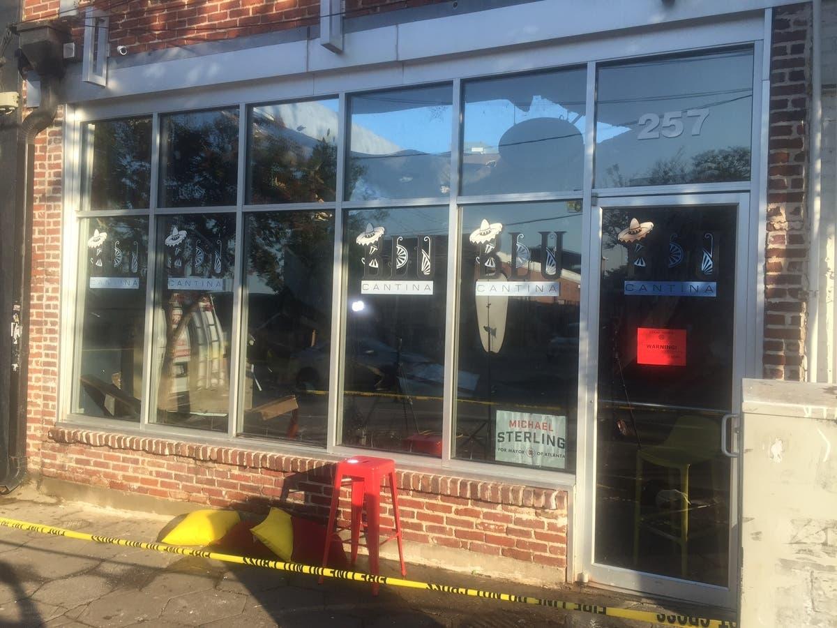 6 Hurt In Roof Collapse At Atlanta Restaurant Atlanta