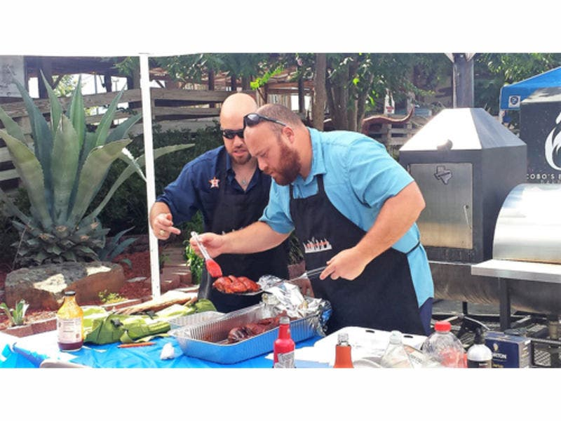 Barbecue Cookoff Hosted By Tin Roof Bbq Benefits Banded