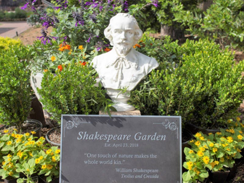 Mercer Botanic Gardens opens Shakespeare Garden | Humble, TX Patch