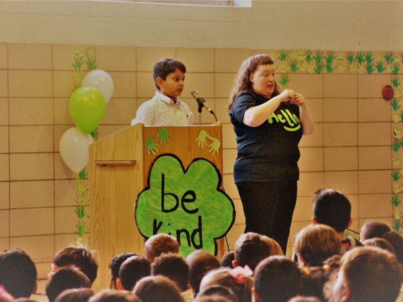 Danbury's Shelter Rock School 'Starts with Hello' | Danbury
