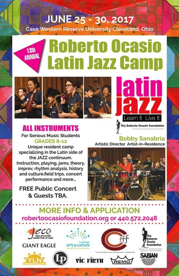 Cleveland's Roberto Ocasio Foundation Latin Jazz Camp Set