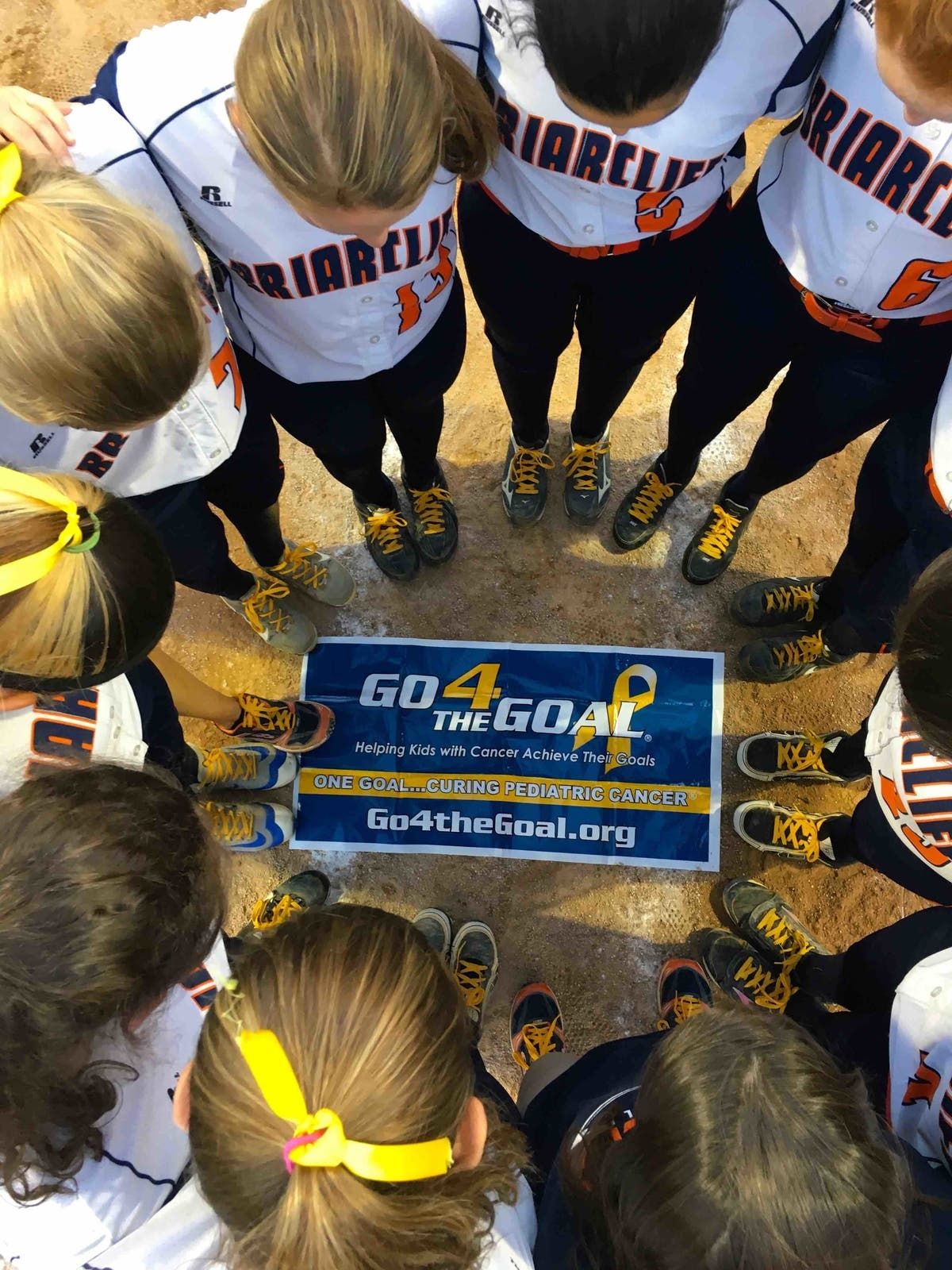 Briarcliff HS Softball Team Raises Pediatric Cancer Awareness ...