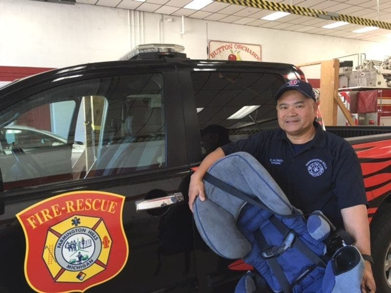 Fire Department Offers Car Seat Safety Inspections