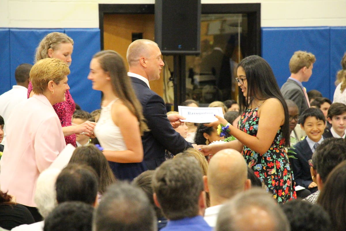 Pelham Middle School Hosts 8th Grade Moving Up Ceremony | Pelham, NY ...