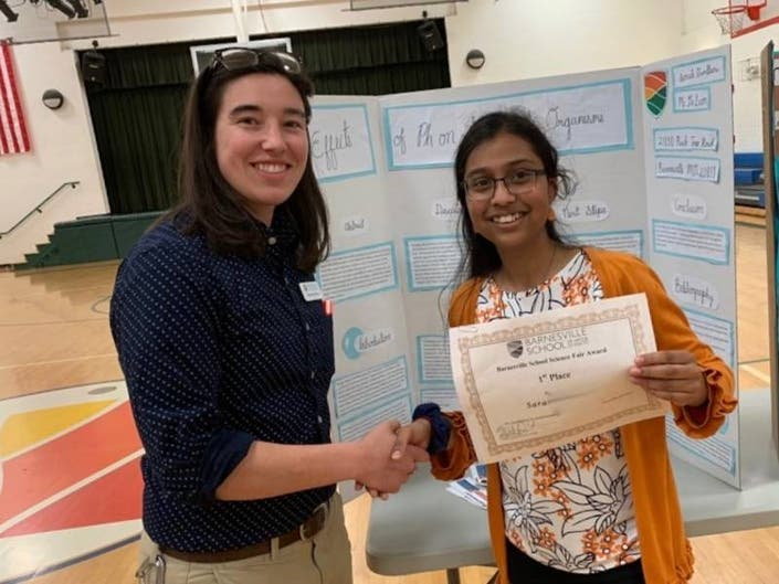 Effect of pH on Invertebrates Wins Seventh Grade Science Fair