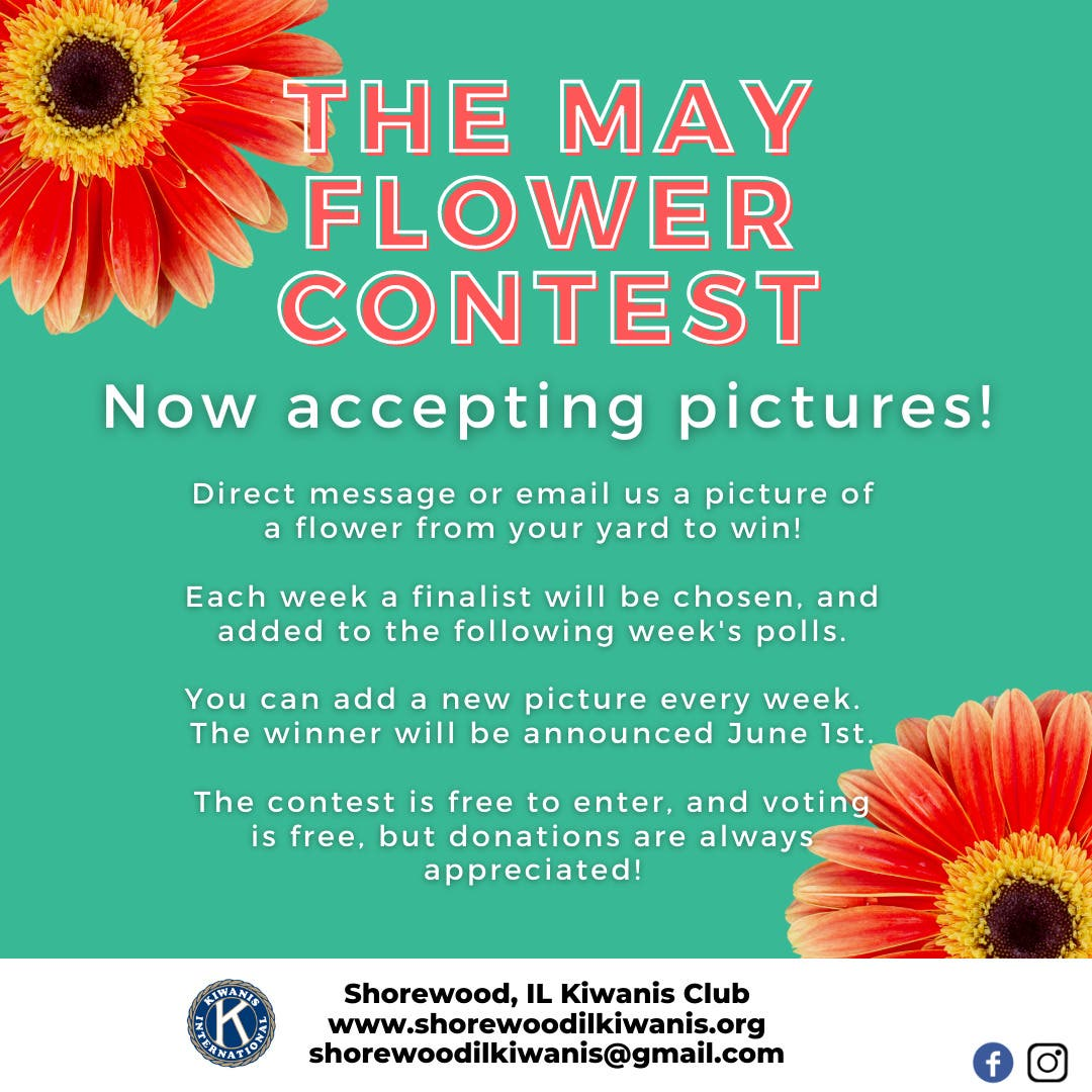 Enter Your Picture Perfect Flower Photo in the Kiwanis Contest