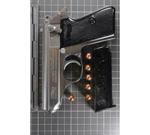 Walther Handgun With A Defaced Serial Number Evanston Detectives Said They  Found In A Skokie Storage Locker Wednesday (Evanston PD)