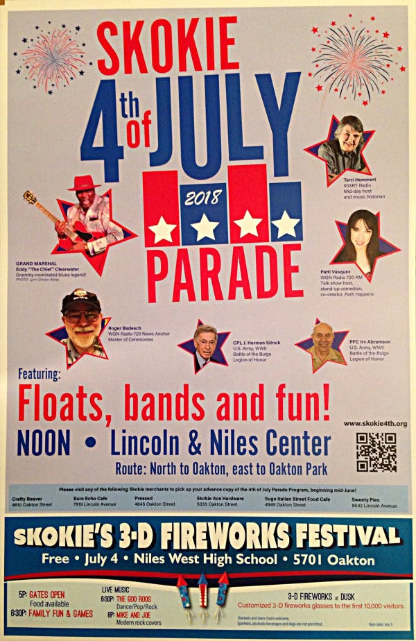 skokie july 4th fireworks parades and more 2018 guide skokie il patch skokie july 4th fireworks parades and