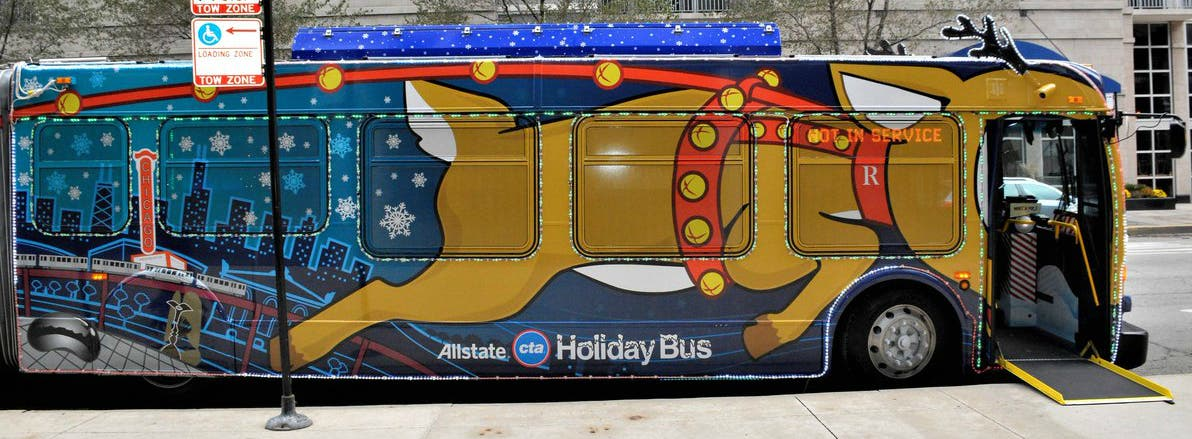 Cta Holiday Train Complete Schedule For Santa On The L