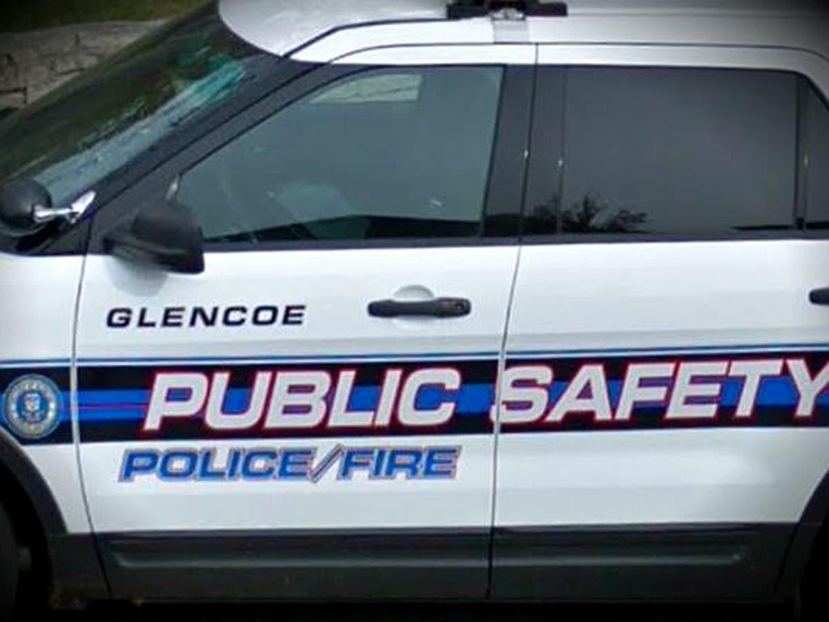 Glencoe Man Batters Cops