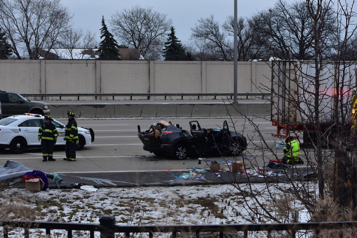 Serious Injury On I-294 As SUV Collides With Tractor-Trailer
