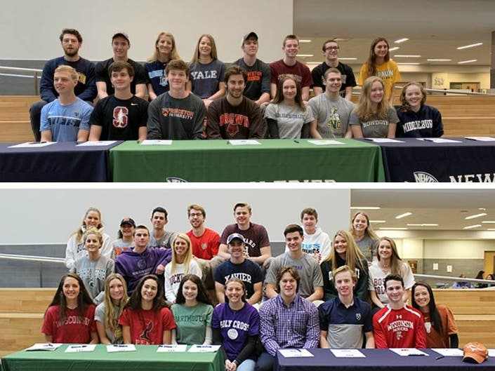 41 New Trier Student Athletes Committed To College Sports
