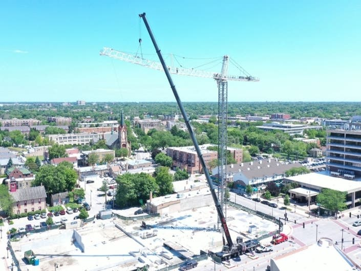 Construction On Skokie's Tallest Building Slowed Over IDOT