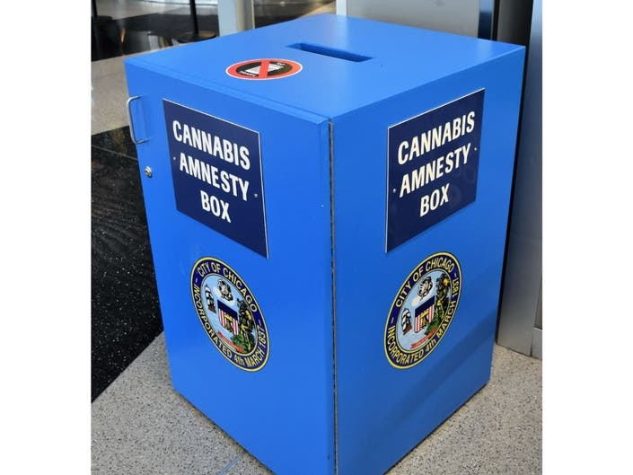 Thief Steals Weed From Cannabis Amnesty Box At Midway: Police