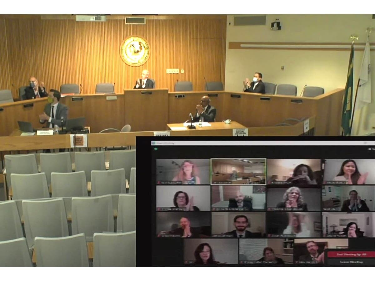 patch.com: Historic Group Of New Skokie Village Trustees Sworn In Remotely