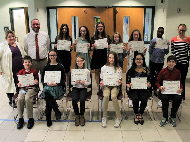 Shorewood Lions Club Names Troy January Students Of The Month
