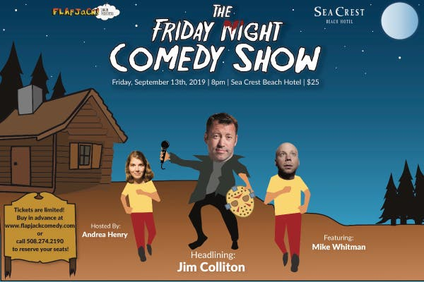 Sep 13 | The Friday Night Comedy Night | Falmouth, MA Patch