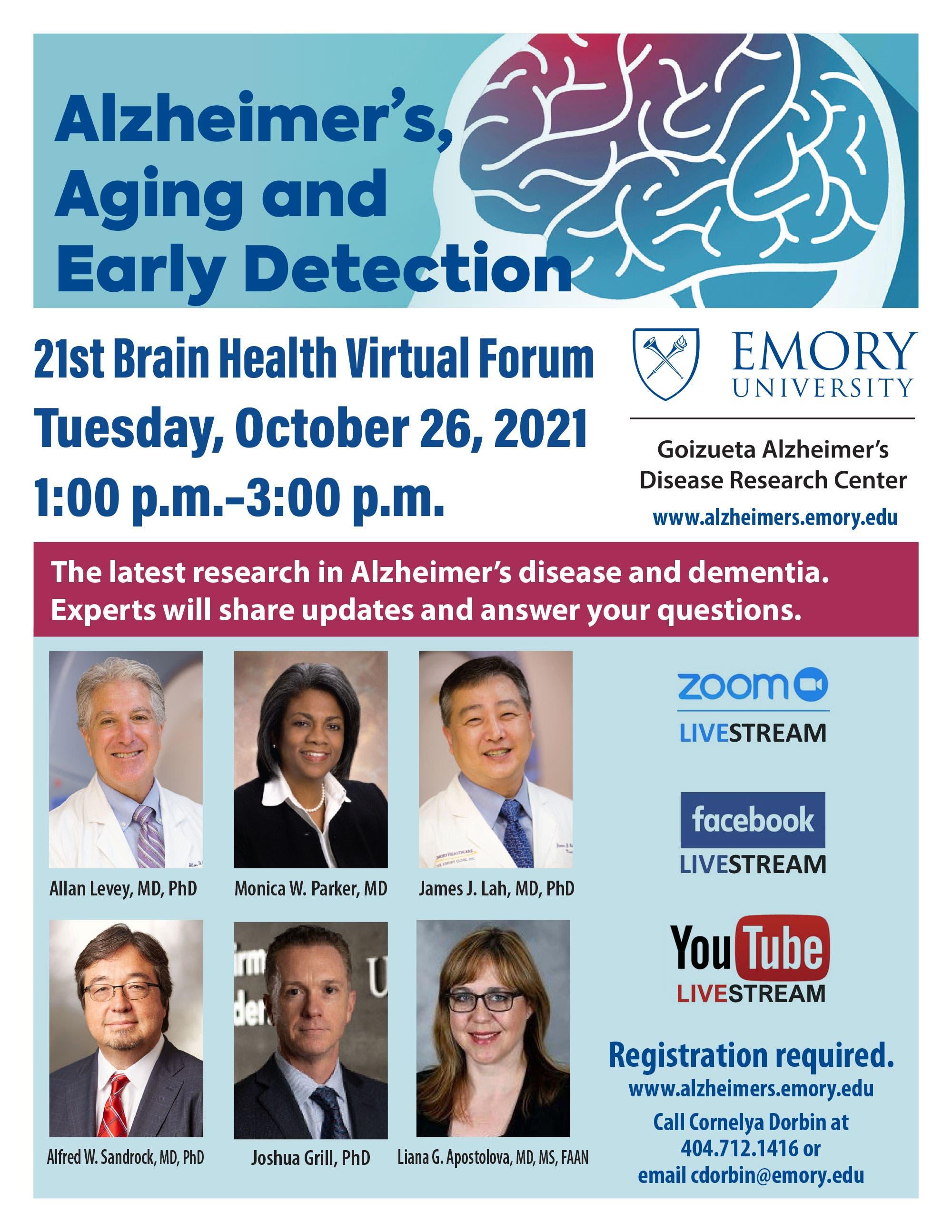 Emory 21st Brain Health Forum