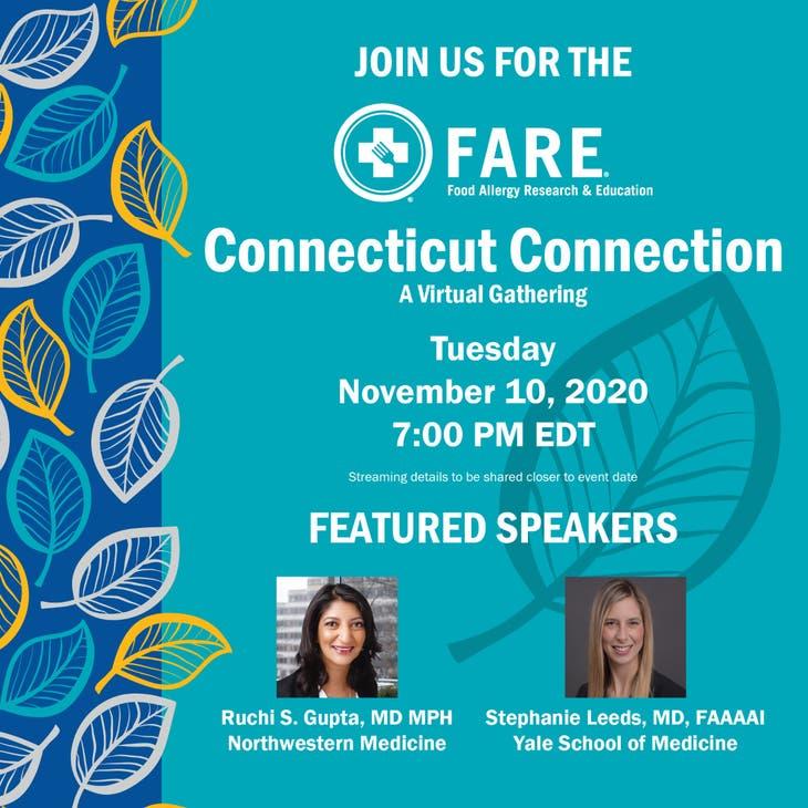 FARE Connecticut Connection: A Virtual Gathering