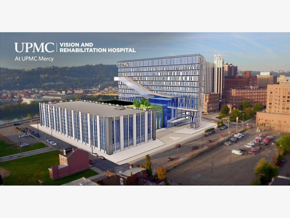 UPMC Vision And Rehabilitation Center Plans Advancing | Pittsburgh