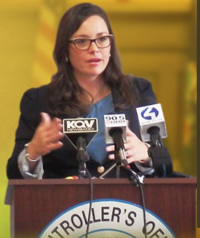 allegheny county controller chelsa wagner arrested  report