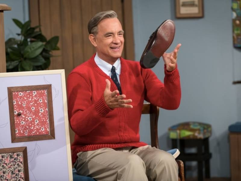 Tom Hanks As Mr. Rogers: New Photo Released