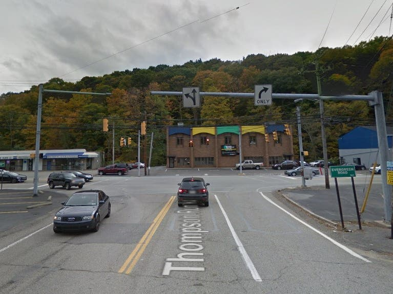 Thompson Run Road Reopens To Traffic | North Hills, PA Patch