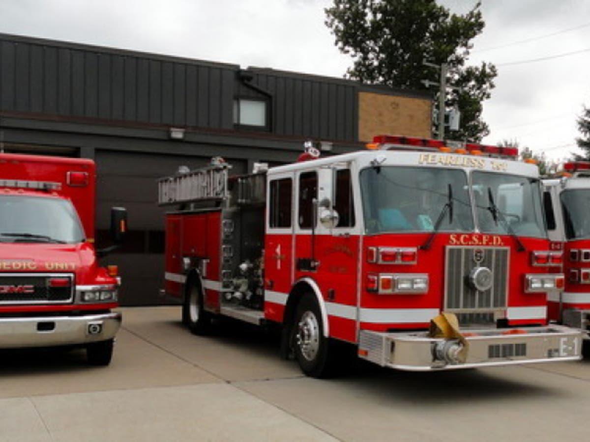 Troy Fire Department Patch Michigan MI v3