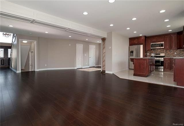 New Construction Dearborn Home Features Awesome Kitchen ...