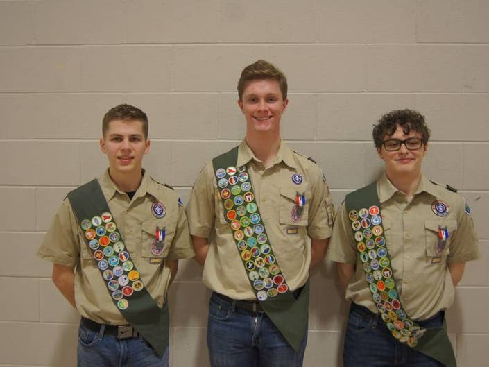 Local Lincoln-Way Scouts Earn Eagle Scout Rank