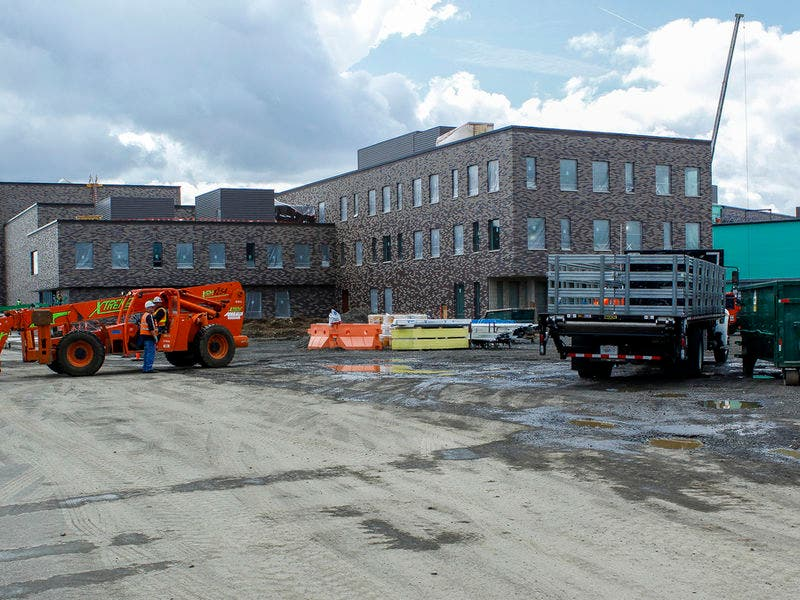 Mountainside High School In Beaverton Is Taking Shape Beaverton