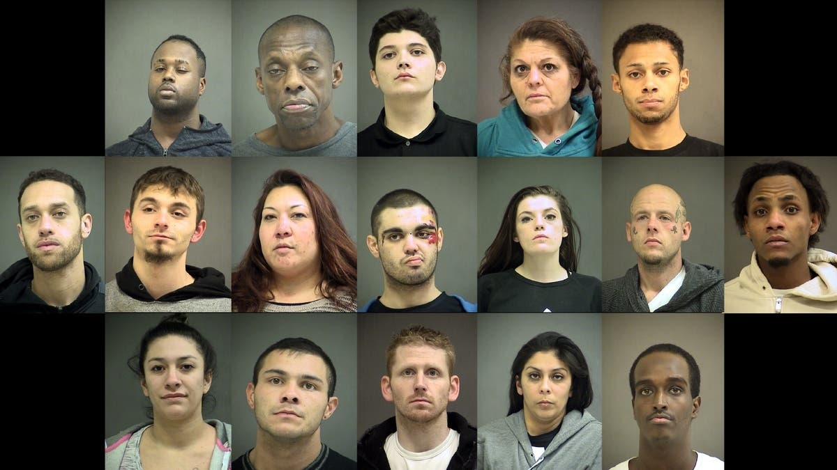 35 People Arrested Over Weeks-Long, 5-House Interagency