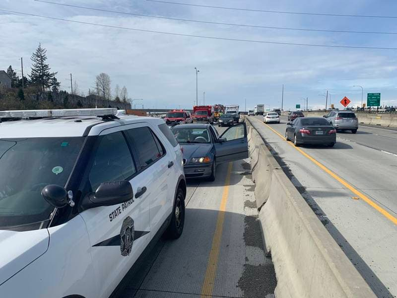 Fatal Crash Closes NB I-5 Near SR-16 Interchange: WSP