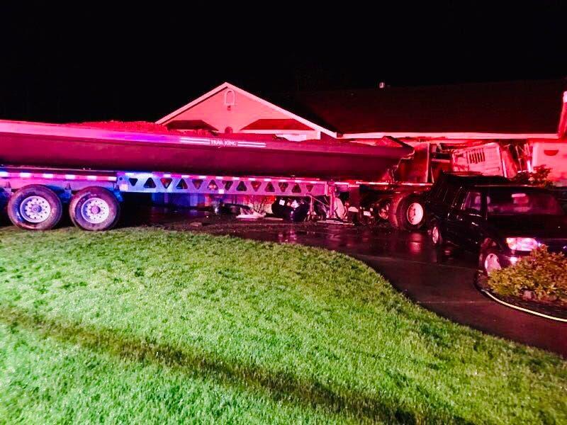 Spanaway Loop Reopened After Semi Crash: CPFR | Lakewood, WA Patch