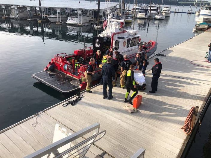 2 Men Rescued From Water Near UP Sunday: West Pierce Fire