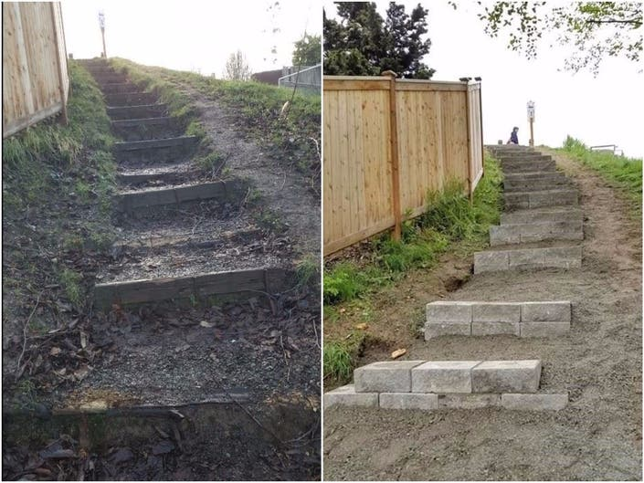 Local Youth Leads Project To Fix Hummingbird Hill Trail