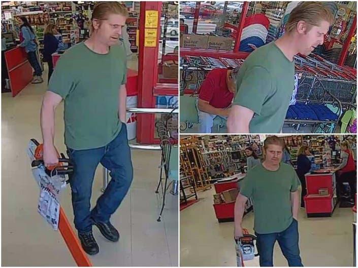 Help ID Alleged Chainsaw Thief: Gig Harbor Police