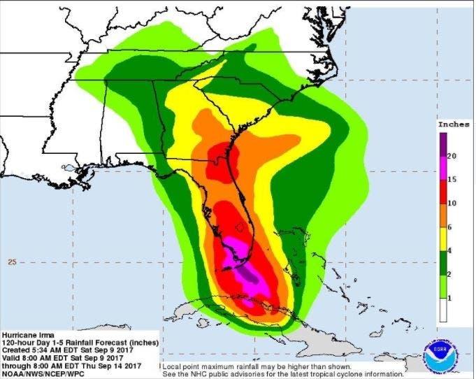 Hurricane Irma: Will It Reach Charlotte? | Charlotte, NC Patch