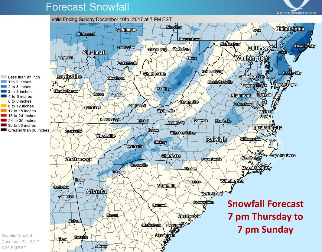Snow Today In Charlotte Heres What You Can Expect Myers Park Nc