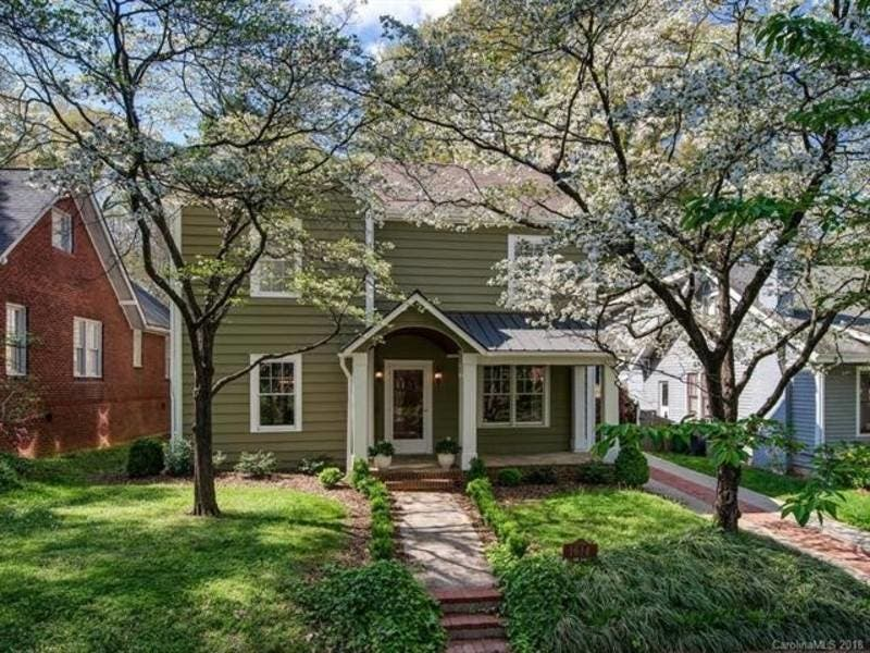 1614 Park Rd, Charlotte, North Carolina Price: $999,000. A Beautifully  Maintained 1927 Dilworth Home Is On The Market For $999,000. This  Three Bedroom Home ...