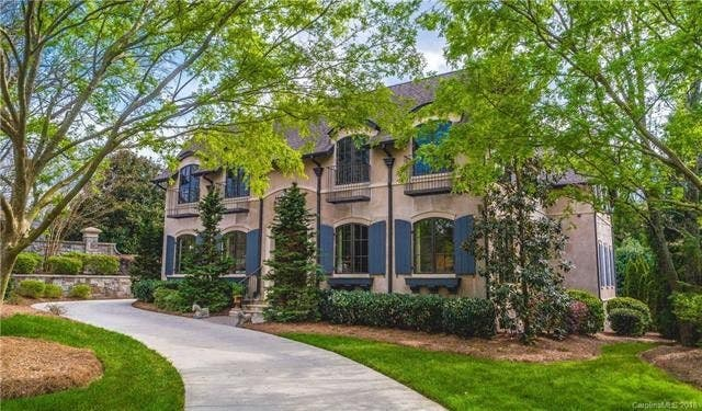 Address: 7003 Summerhill Ridge Dr, Charlotte, NC 28226. Price: $1,690,000.  Bedrooms: 5. Bathrooms: 6 Full, 1 Half. Built: 2007