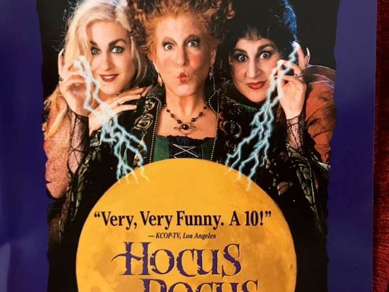 hocus pocus coming back to theaters in north carolina