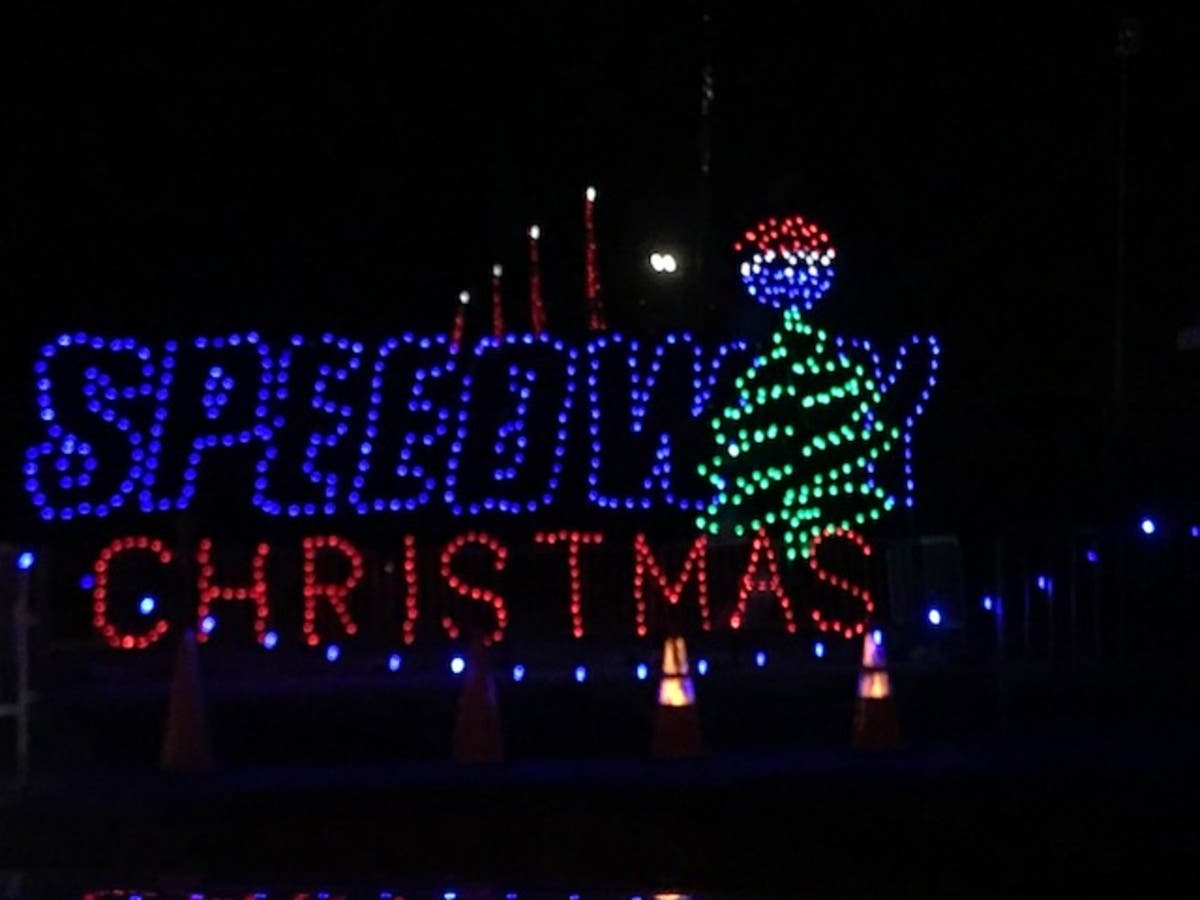 Charlotte Motor Speedway Christmas Lights.Rev Up Your Holiday With Christmas Lights At Charlotte