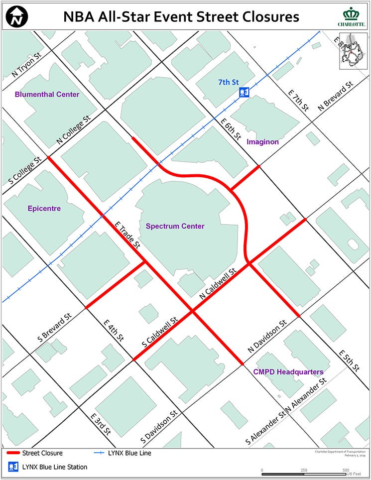 Nba All Star Game Guide Schedule Road Closures How To Watch