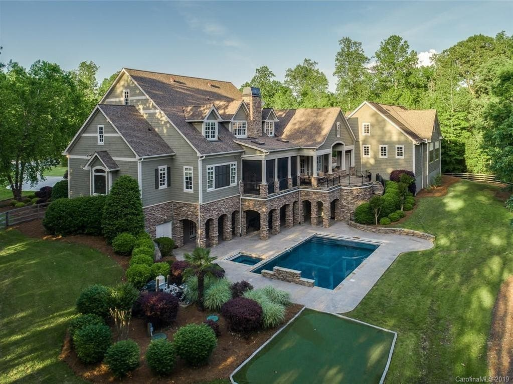 1 75m Buys Davidson Estate With Indoor Basketball Court Davidson Nc Patch
