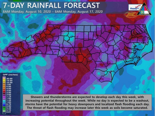 Halloween 2020 Day Opf Week Heavy Rain, Winds Possible Monday Afternoon: Charlotte Forecast