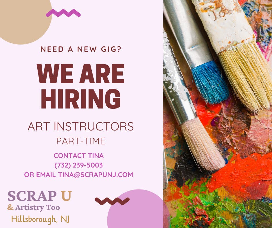 Part time drawing & painting instructor