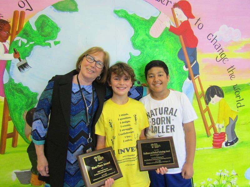 middlebrook elementary school 5th grader logan jones wins two top